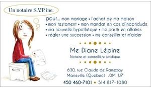 Notaire Diane Lépine