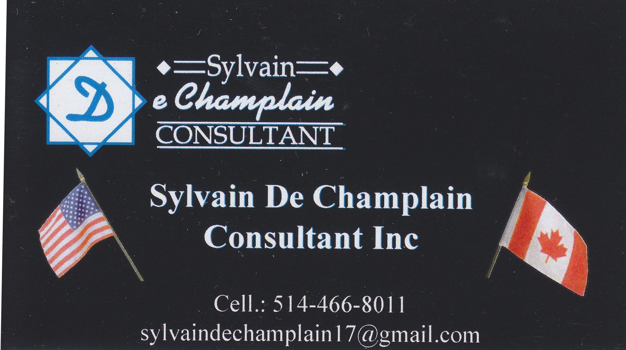 Sylvain de Champlain Consultant